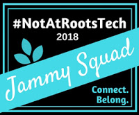 Not at RootsTech badge